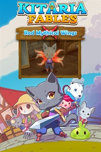 Red Mythical Wings