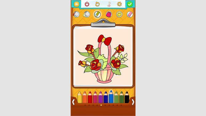 Coloriage Fleur Ms.Recevoir Coloriage Fleurs Microsoft Store Fr Fr