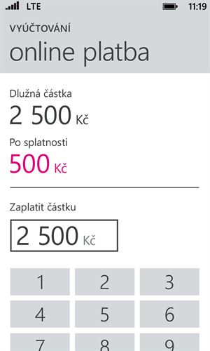 Můj T-Mobile Screenshot