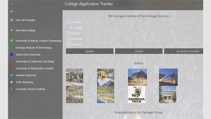 get college tracker microsoft store en sa