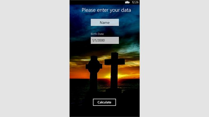 Get Death Calculator Free - Microsoft Store
