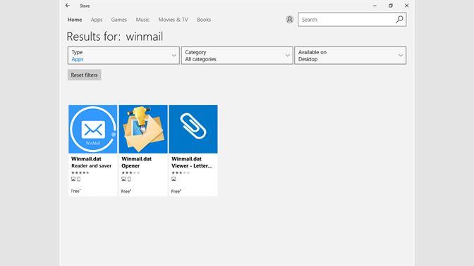 Get Winmaildat Reader And Saver Microsoft Store