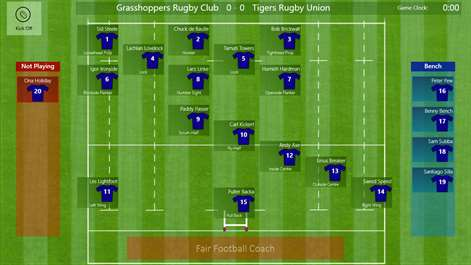 Get fair football coach microsoft store screenshot rugby union prepare the team line up prior to kick off pronofoot35fo Gallery