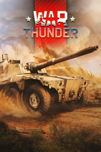 Carátula del juego War Thunder - Rooikat 105 Pack