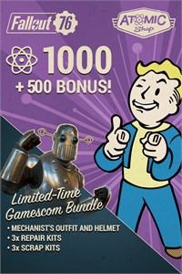 Fallout 76: Gamescom Atom Bonus Bundle