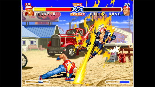 ACA NEOGEO REAL BOUT FATAL FURY 2 screenshot 3