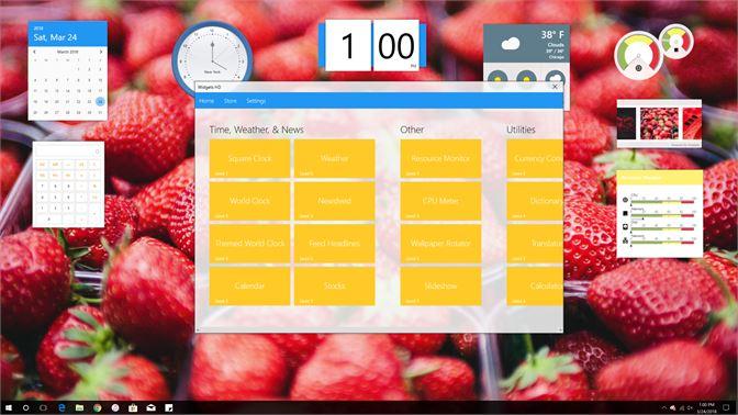 Get Widgets HD - Microsoft Store