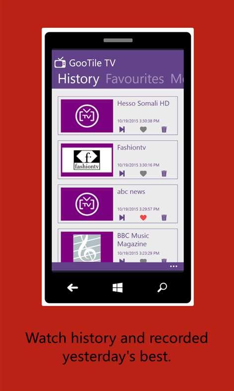 GooTile TV Online App Latest version Free Download 2019 - AppBgg com