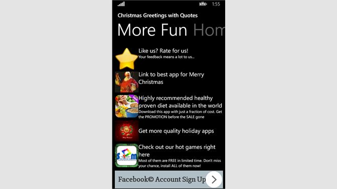 Get christmas greetings with quotes microsoft store screenshots m4hsunfo
