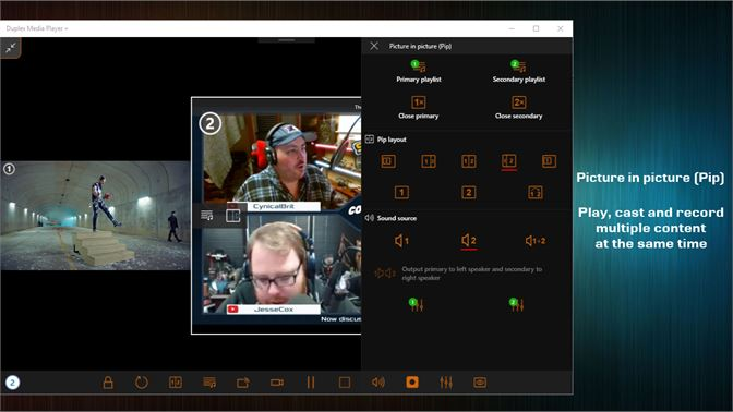 Get Duplex Media Player - Microsoft Store