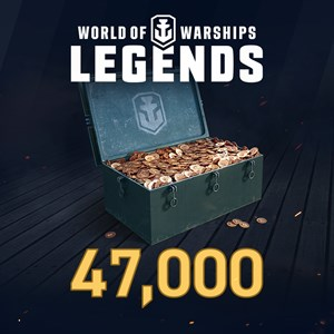 World of Warships: Legends - 47,000 Doubloons Xbox One