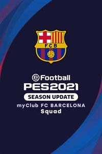 eFootball PES 2021 myClub FC BARCELONA Squad
