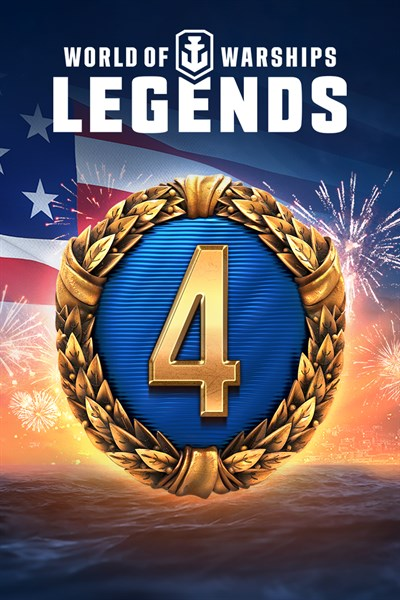 World of Warships: Legends - Liberty pack