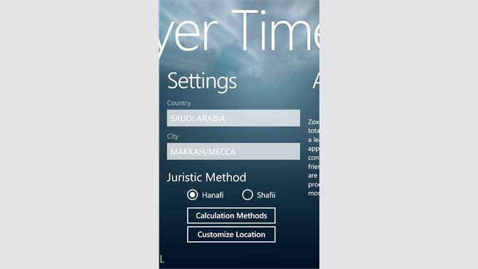 Get Prayer Time - Microsoft Store en-SA