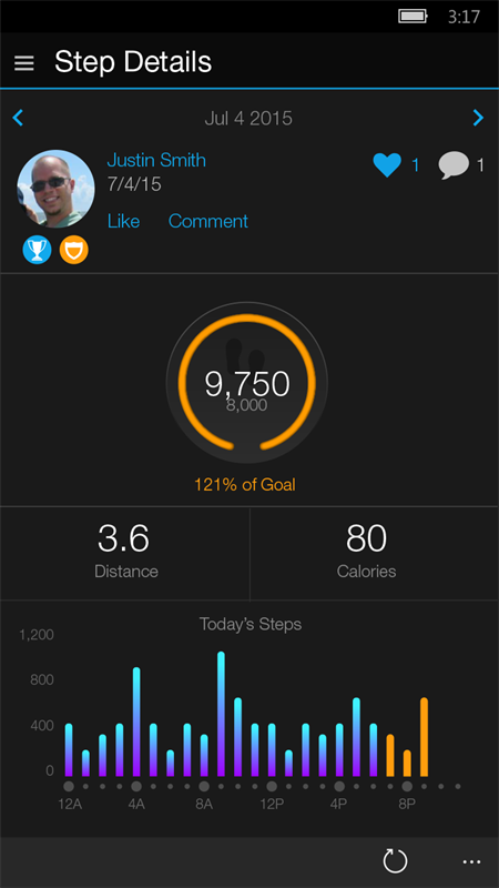Garmin Connect Mobile Screenshot