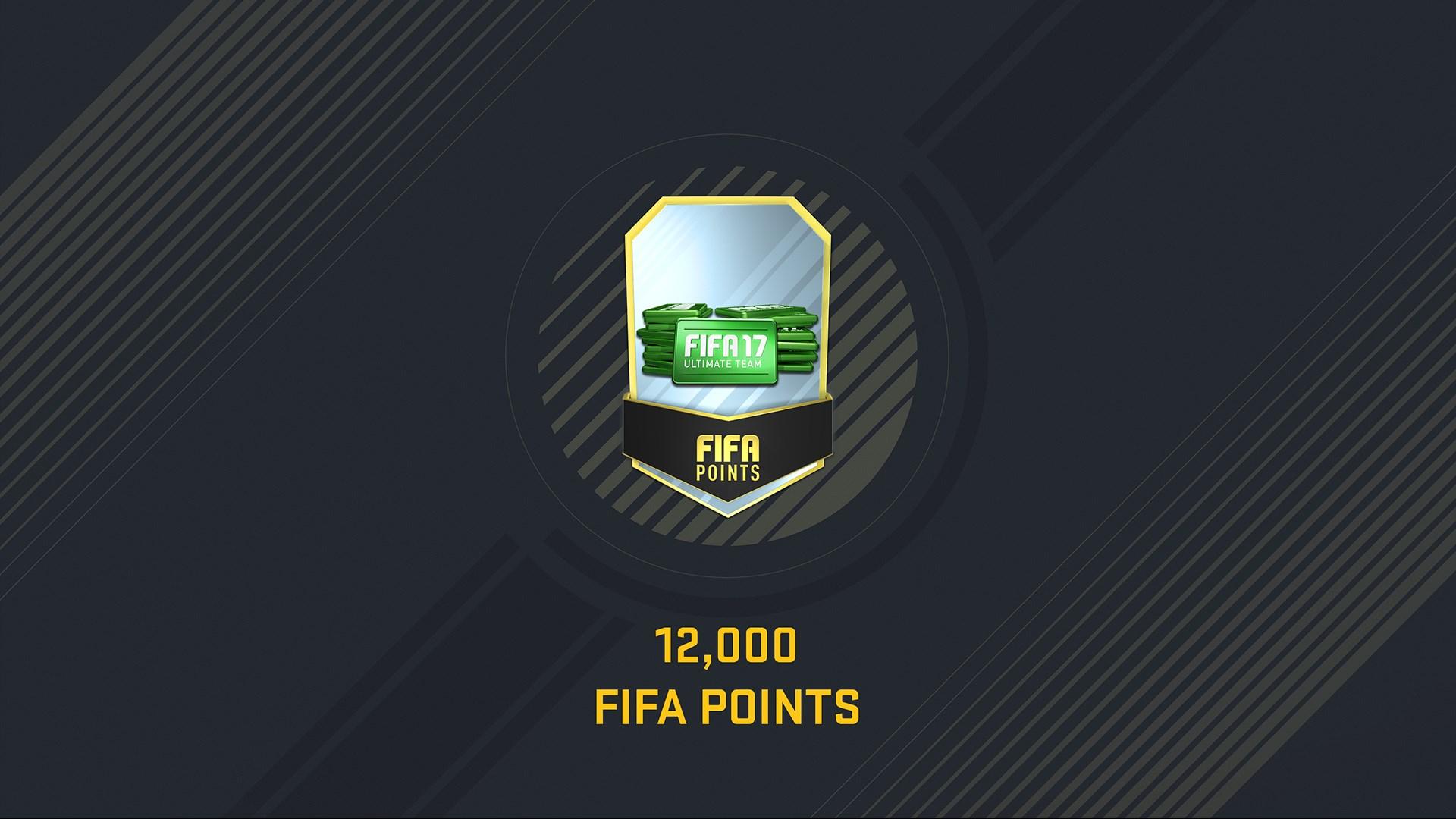 Pakiet 12 000 punktów FIFA 17 Points