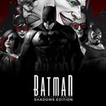 The Telltale Batman Shadows Edition Logo