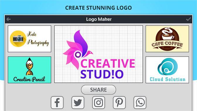 Get Logo Maker Logo Creator Generator Designer Microsoft Store