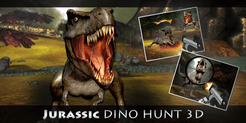Get Jurassic Dino Hunt 3D - Dinosaur Hunting Adventure