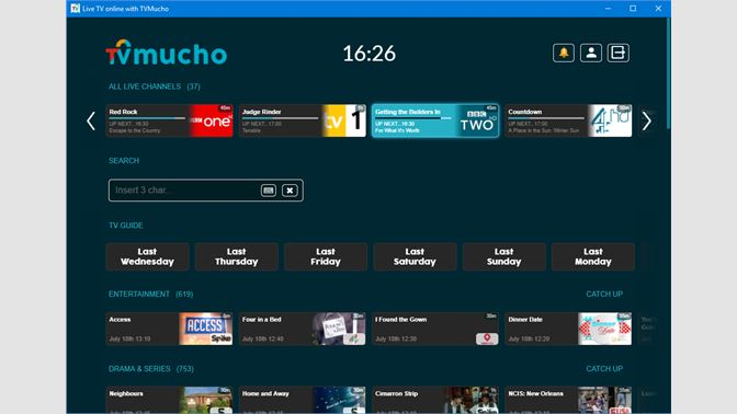 Get TVMucho - Microsoft Store