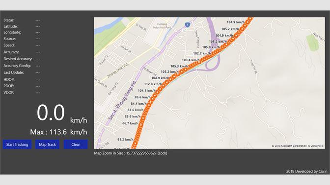 Get GPS Geolocation for BingMap - Microsoft Store