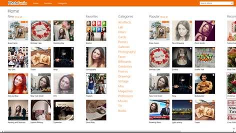 PhotoFunia Screenshots 1