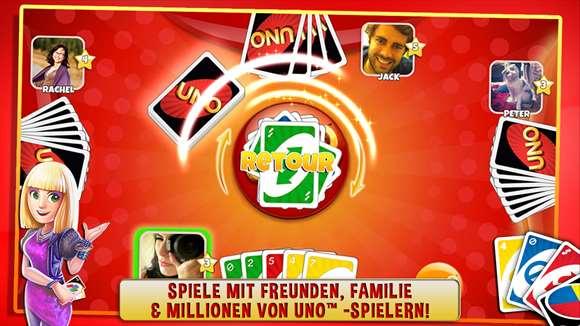 Uno Friends Mit Freunden Spielen