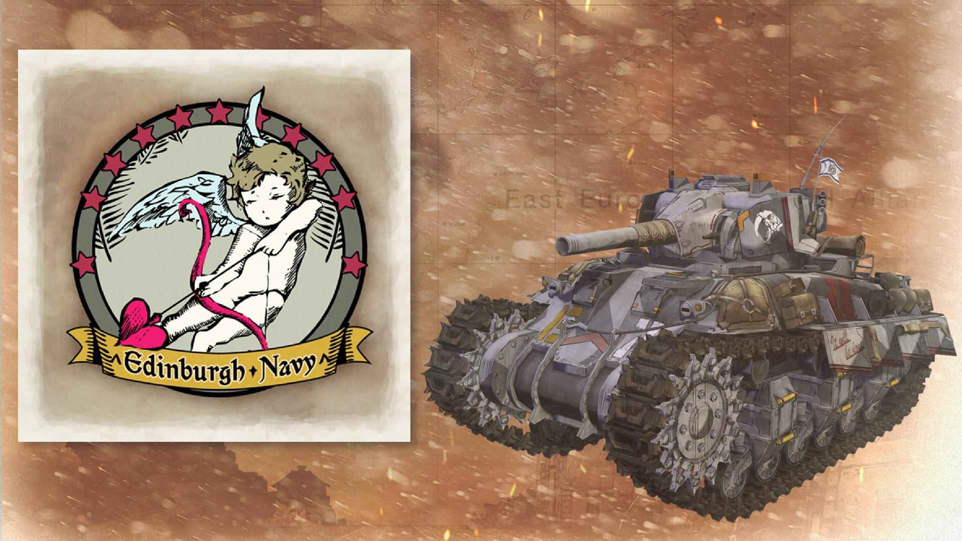 Tank Decal - Cherub