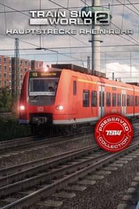 Carátula para el juego Train Sim World 2: Hauptstrecke Rhein-Ruhr: Duisburg - Bochum de Xbox 360