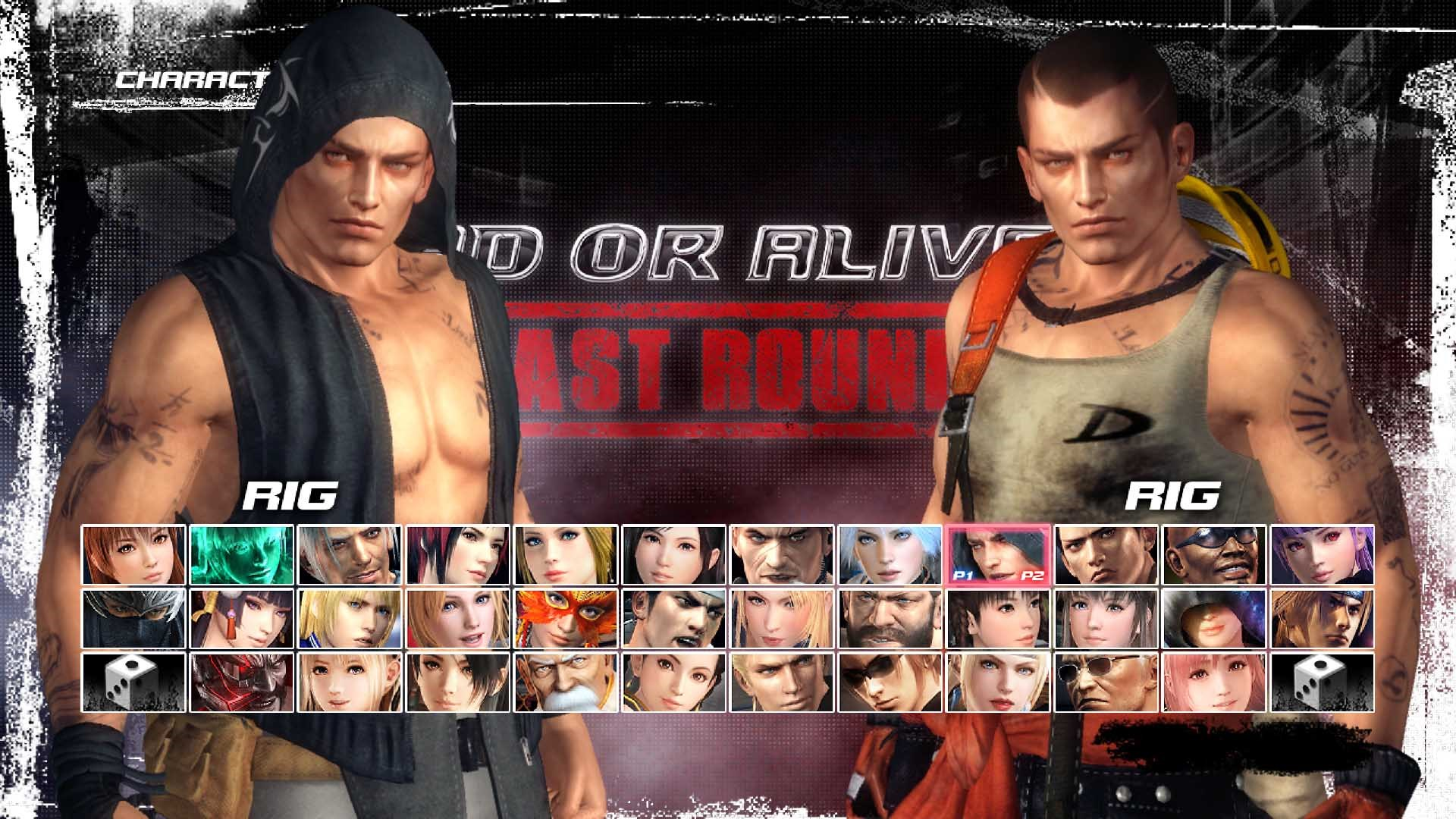 DEAD OR ALIVE 5 Last Round Character: Rig