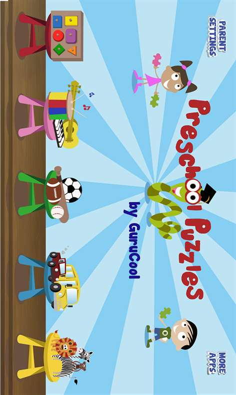 Puzzle games for kids Screenshots 1