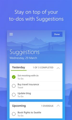Microsoft To Do: Lists, Tasks & Reminders Screenshot