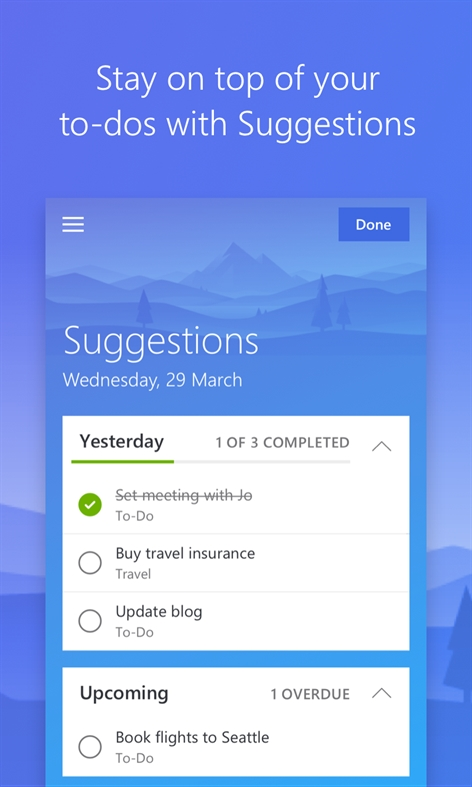 Microsoft To-Do Screenshot