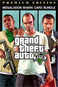 Bundle Grand Theft Auto V: Edição Online Premium e Pacote de Dinheiro Megalodonte
