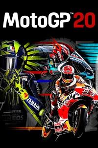 Carátula para el juego MotoGP20 de Xbox 360