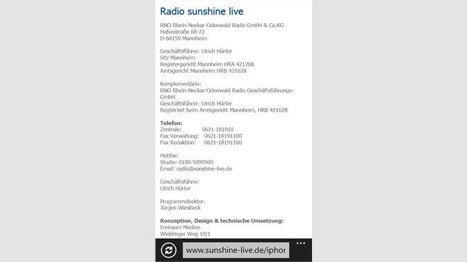 Get sunshine live - Microsoft Store