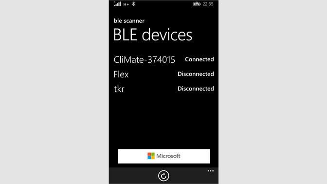 Get BLE Scanner - Microsoft Store