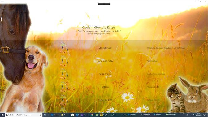 Get Tiere in der Lyrik - Microsoft Store