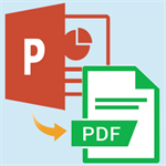 PPT to PDF Converter tool Logo