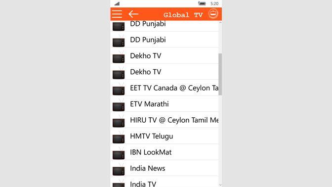 Get Global TV 10 - Microsoft Store en-CA