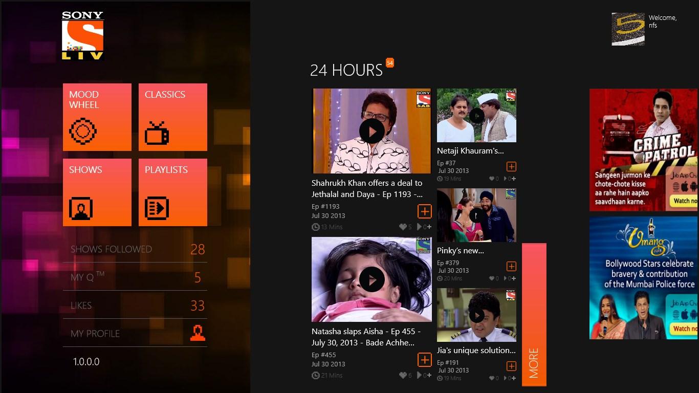 Watch Online Free Hindi Serials Sony Liv