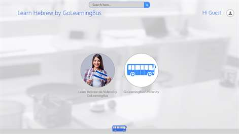 Learn Hebrew via videos by GoLearningBus Screenshots 2