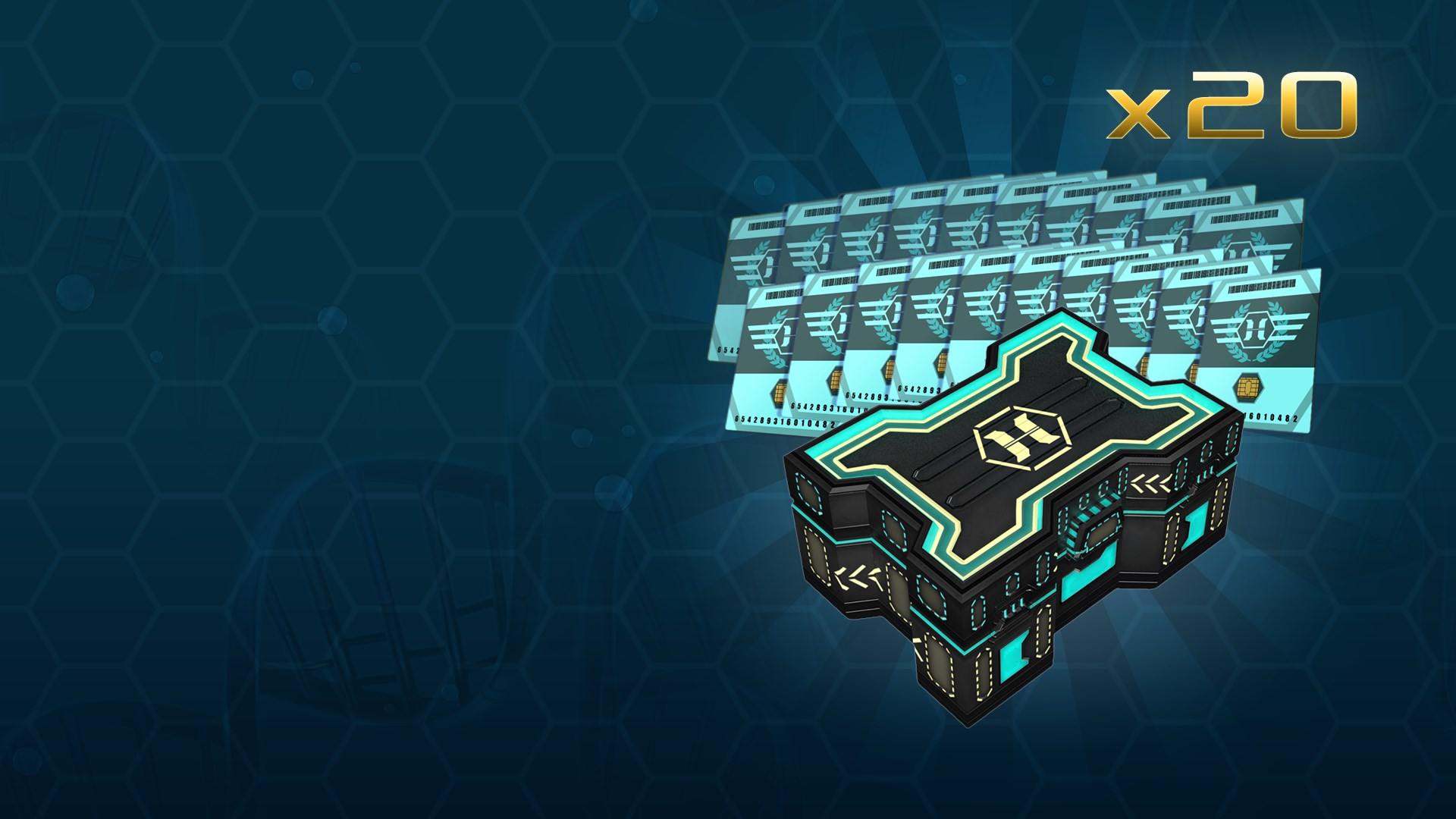 Horzine Supply Weapon Crate | Series #17 Gold Bundle Pack