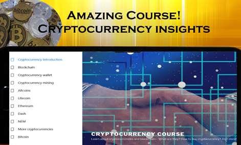 Cryptocurrency Course: Bitcoin, Litecoin, Eth, Ripple, Dash, Blockchain Screenshots 2
