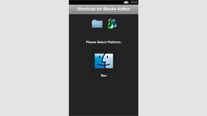 Get Shortcuts for iBooks Author - Microsoft Store