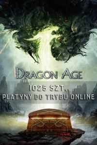 1025 szt. platyny do trybu online Dragon Age™