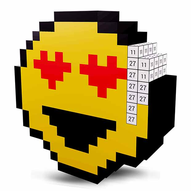 Emoji 3D Color by Number - Voxel Coloring Book   FREE