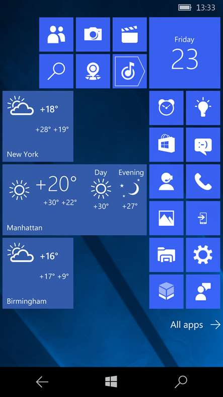 Yandex release their Yandex.Weather app for Windows Phone 4