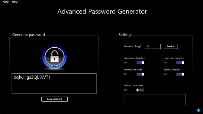 Get Advanced Password Generator (Free) - Microsoft Store