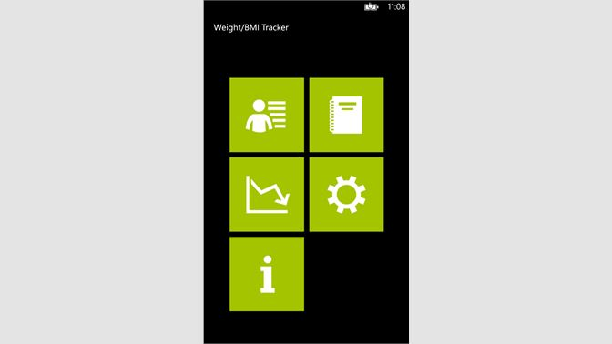 get weight bmi tracker microsoft store